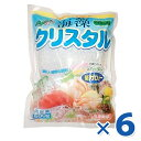 【送料無料】 海藻クリスタル 海藻麺 500g×6個セット 国産 低カロリー 食物繊維 無添加 アルギン酸 置き換え…