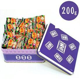 【送料無料】 常盤堂 笑点雷おこし缶 200g 個包装 東京 お土産 浅草 かみなりおこし本舗
