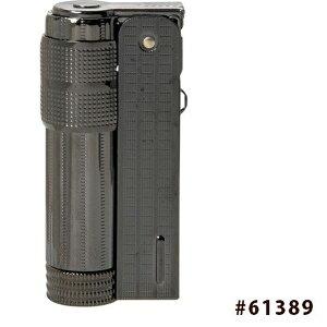 【送料無料】 イムコ スーパー オイルライター フリント式 黒ニッケルブラス #61389 柘製作所(tsuge)