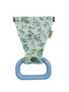 さわらーず サックス花柄 感染予防 つり革 ドアオープナー GOTOトラベル 【特許出願済み】