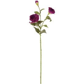 造花 ブーケ 花材 インテリアグリーン フェイクグリーンリシアンサス ブルーパープル 花径6〜8×長さ71cm/1本