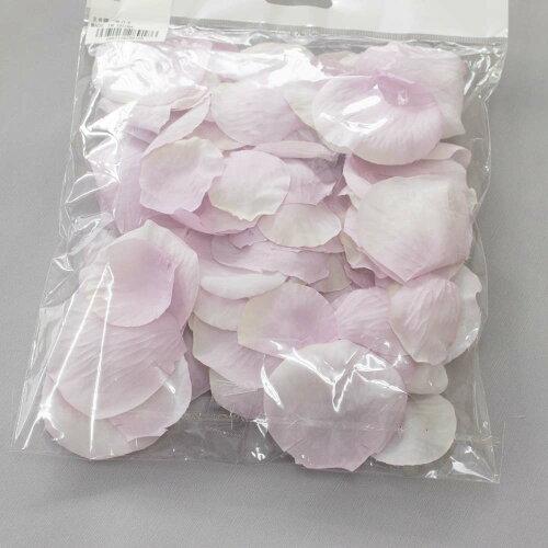 造花花びらバラ【フラワーシャワーローズペダルブライダル花びら100枚ライトピンク】