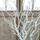 枝 木 ウェルカムツリー フェイクグリーン ブランチ 1本/白 L103cm 造花 10月12日(金)入荷予定
