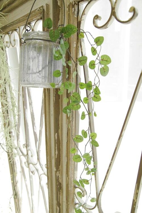 アンティーク風雑貨造花フェイクグリーンインテリアグリーン観葉植物造花ワイヤープランツグリーン【メール便無料★】花径1〜2cm×長さ85cm