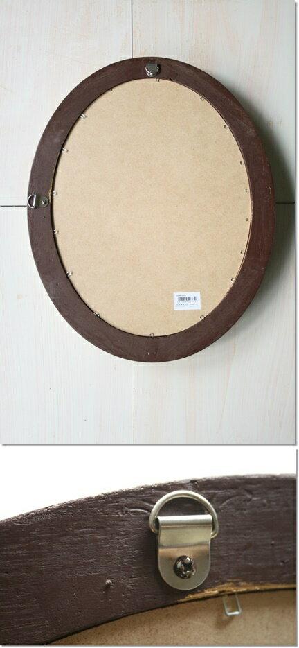 【楽天最安値に挑戦!】ミラー壁掛け鏡アンティークオーバルアイボリーL(37.5×47.5cm)ウォールミラー壁掛け鏡壁掛けミラーアンティーク調シャビーナチュラルカフェ風おしゃれ
