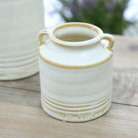 花瓶 陶器 ポアエピス S アンティーク風 雑貨 陶器 花瓶 Φ9×高さ10cm