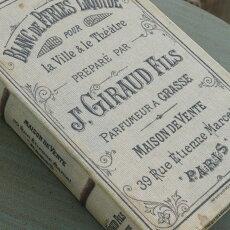 アンティーク風雑貨コベントガーデンオールドパルファンブックボックス1点巾13×奥行20.5×高さ4cm