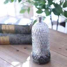 揺らぎフロスティLEDボトルおしゃれコベントガーデンΦ7.5×高さ19.5cm