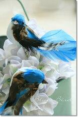 ガーデンオブジェ置物アンティーク【ブルーバード(2種セット)(UT-01)】結婚式鳥雑貨オーナメントコベントガーデン定形外郵便発送可