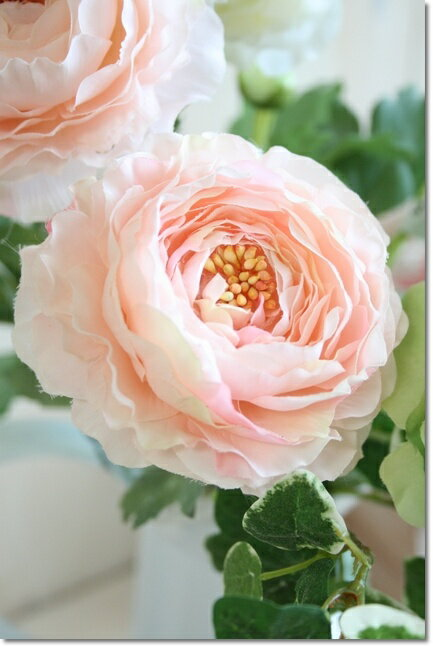 【メール便340円★】造花 アンティークインテリア 造花 ラナンキュラスソネット(ピンク)