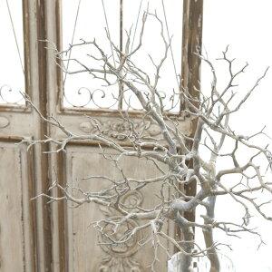 ウェルカムツリー マンザニータ ツリー 枝 インテリア ブランチ マンザニータ グレーホワイト アンティーク雑貨 巾40cm×高さ95cm 1202/