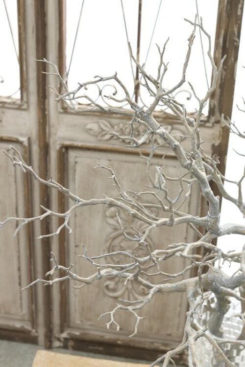 ウェルカムツリーマンザニータツリー枝インテリアブランチマンザニータグレーホワイトアンティーク雑貨巾50cm×高さ95cm