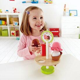 ままごとセット 3歳 〜 | アイス屋さんになれる アイスクリームトリーツ ハペ 木のおもちゃ おままごと ままごと セット 木製 hape ロールプレイ ごっこ遊び 知育玩具 子ども 子供 4歳 5歳 女の子 男の子 誕生日プレゼント 正規品