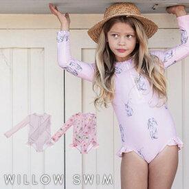 ウィロースイム | ベビー 水着WILLOW SWIM Sophia ソフィア スイムウェア ラッシュガード紫外線対策 SPF50+ 日よけ 長袖 女の子 ベビー フリル 可愛い キッズ