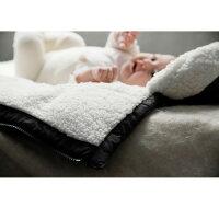 マールマール【babycover】ボアベイビーカバーキャリアカバースワドルブランケットベビー男の子女の子MARLMARLボア寒さ対策赤ちゃん
