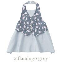 マールマールエプロンギャルソンBaby3カラー(1.slashstripe×dot_baby/2.yellowflower_baby/3.flamingogrey_baby)ボックス入り男の子0歳〜3歳MARLMARLGarcon