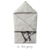 マールマールブランケット全3デザイン(1.lavender/2.icegrey/3.charcoal男の子女の子MARLMARLhoodedblanket