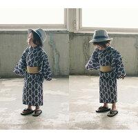 マールマール浴衣新作yukataゆかたセパレート上下セットベビー赤ちゃん男の子女の子0歳〜3歳MARLMARLカラフル