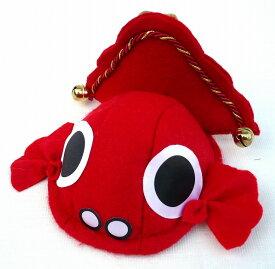 「金魚ちゃんヘアピン」(鈴つき)巾着袋入り【RCP】