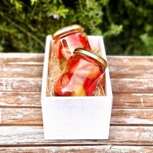 【送料無料!!】苺(いちご)の王様「あまおう」の贅沢フルーツポンチセット(小2個) プレゼント 果物 ゼリー ギフト 母の日