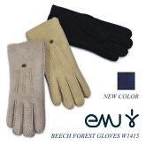 日本正規品emu(エミュー/エミュ)BEECH-FOREST-GLOVES-W1415