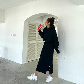 スウェットセットアップ(Original) パーカー レディース カジュアル ママファッション 秋 新作 CHERI