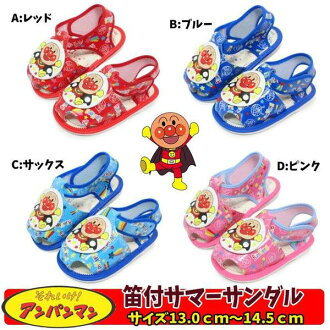"""For summer sandals """"go to it!Anpan-Man"""" belonging to flute character shoes festival in the summer"""