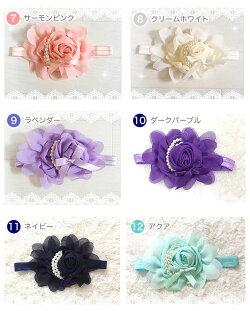 【送料無料】シェリープリンセス(CheriePrincess)バラモチーフのヘアバンド
