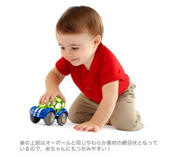 【オーボールラトル&ロール】ミニカー型ラトルベビー