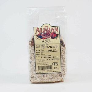 有機JAS ミューズリー 350g アリサン シリアル 朝食 送料無料 オーツ麦 レーズン デーツ オーツ麦粉 くるみ アーモンド