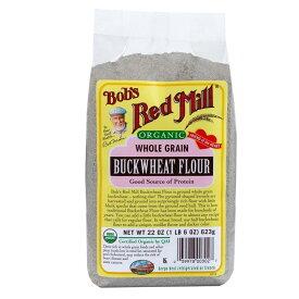 そば粉 Bob's Red Mill G152 (623g) /アリサン Alishan 【無添加・有機JAS・無漂白・オーガニックなどのドライフルーツやナッツ、食材が多数】