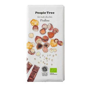 (ピープルツリー)プラリネ・ミルクチョコレート XX22 (100g) /アリサン Alishan 【無添加・有機JAS・無漂白・オーガニックなどのドライフルーツやナッツ、食材が多数】