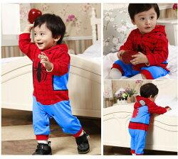 ☆【送料無料】ハロウィンに普段使いに♪超かっこいいヒーロー風の長袖カバーオール