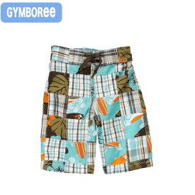 ジンボリー 正規品 Gymboree -5)マドラスチェックの男の子用ショートパンツ。夏素材でサラサラ快適です。(12ヶ月 1歳 1才 2歳 2才 24M 2T 3歳 3才 3T 4歳 4才 4T 5歳 5才 5T)(80cm 90cm 95cm 100cm 110cm 140094732 Gymboree)