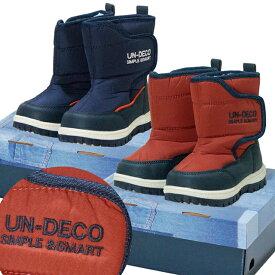 【再販SALE】2018年 UN-DECO スノーブーツ ウィンターブーツ 防寒衣料 撥水加工