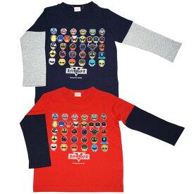 【本体綿100%】魔進戦隊キラメイジャー 天竺 長袖Tシャツ
