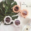 キッズ サングラス 雑貨 韓国こども服 夏 キッズファッション 子供用 即日発送 花びらサングラス プレゼント ホワイト…