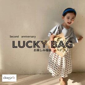 福袋 キッズ 【LuckyBag】詰め合わせ お楽しみ ラッキーバッグ 70 80 90 100 110 120 130 男の子 女の子 即納