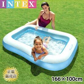 【楽天スーパーSALE10%OFF】プール 子供 キッズプール ビニールプール クッション底 子ども ベビープール ベランダ 2才 子供 こども用 3才 子供用 INTEX インテックス コンパクト