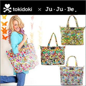 기저귀 가방 엄마 가방 ジュジュビ jujube 슈퍼 비 SuperBe トキドキ tokidoki 패스너 첨부 토트 백