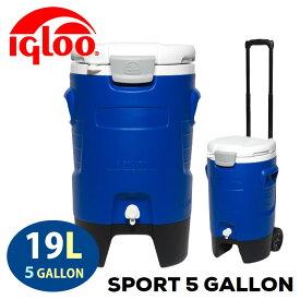 イグルー ビレッジクーラー 19L 5ガロンウォータージャグ Beverage Cooler ウォータータンク アウトドア キャンプ バーベキュー