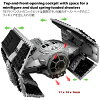 LEGO STAR WARS 75, 150 Star Wars Star Wars Darth Vader's TIE advanced vsA wing Starfighter Includes Darth Vader mini figure Lego blocks