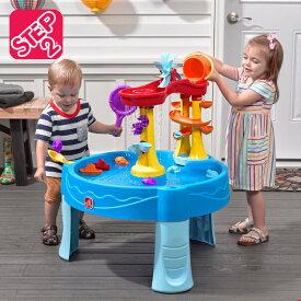 【正規品】ベランダ 室内玩具 子ども 子供 おもちゃ 玩具 水遊び おうち遊び ウォーター プレイテーブル STEP2 ステップ2 アーチウエーフォールズウォーターテーブル