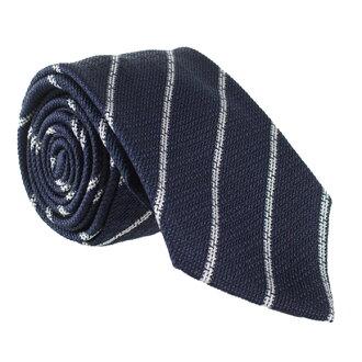 乔治奥阿玛尼GIORGIO ARMANI领带蓝色×白(条纹花纹)CVT8 LINEARE 360054 7P901 7P921 035 BLUE