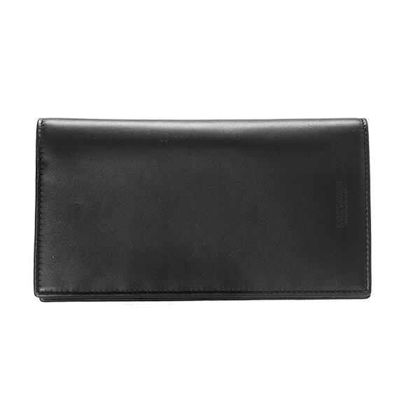 ジョルジオアルマーニ GIORGIO ARMANI メンズ 長財布(小銭入れ付) ブラック 黒 YEN WALLET Y2R111 YDH6J 80001 BLACK