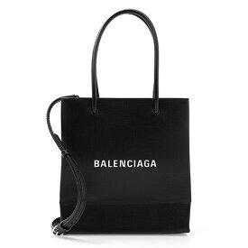 バレンシアガ BALENCIAGA バッグ レディース 2WAYハンド/ショルダーバッグ ブラック SHOPING [ショッピング] NORTH SOUTH TOTE BAG XXS 597858 0AI2N 1000 BLACK【2021SS】