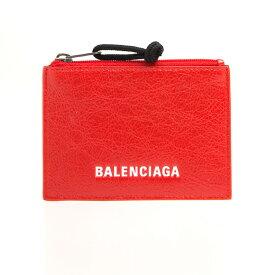 バレンシアガ BALENCIAGA 財布 メンズ カードケース/コインケース ルージュパプリカ ZIP CARD HOLDER 505107 DB505 6501 ROUGE PAPRIKA