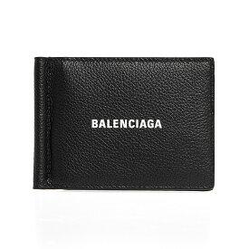 バレンシアガ BALENCIAGA 財布 メンズ 二つ折り財布(マネークリップ) ブラック CASH FOL CARD W/B CL 625819 1IZI3 1090 BLACK/L WHITE