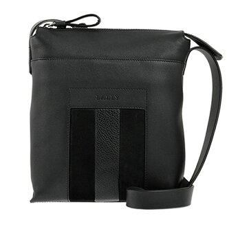 Bally BALLY bags men's BAUMAS shoulder bag charcoal grey 6205124 40 CHARCOAL