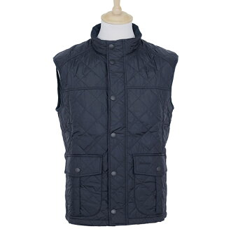 Barber BARBOUR outerwear mens quilted best Navy EXPLORER GILET MQU0657 NY71 NAVY